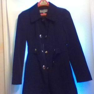 Anne Klein Black Rain Jacket - Size XS